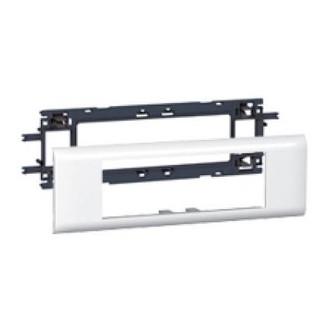 Support 6/modules Mosaic pour goulotte DLP avec couvercle de 85/mm Legrand 010996